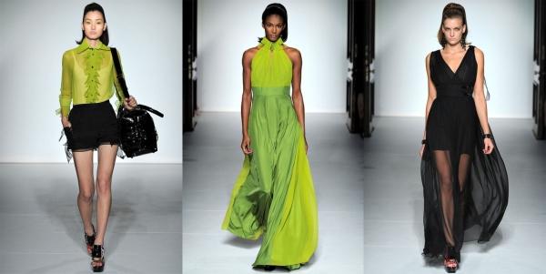 Тенденции моды Лондона.