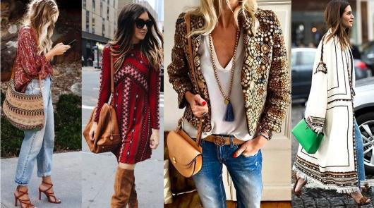 Стиль Бохо в одежде дизайнеров.